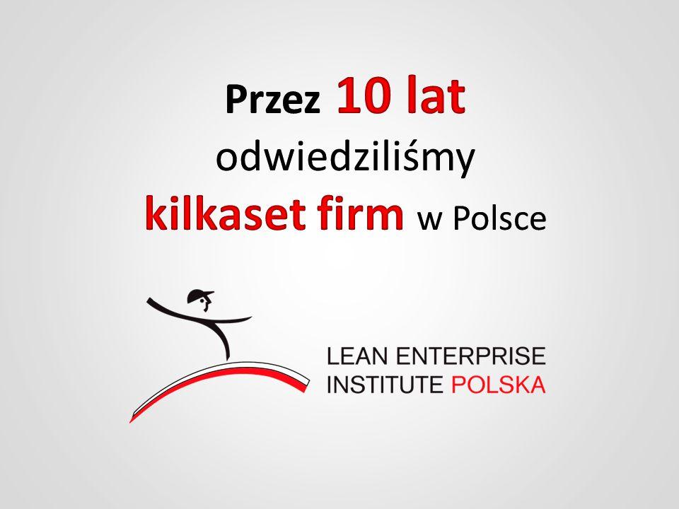 Przez 10 lat odwiedziliśmy kilkaset firm w Polsce