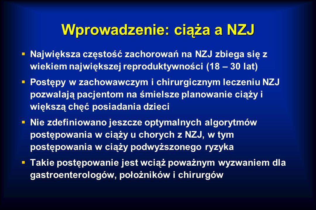 Wprowadzenie: ciąża a NZJ