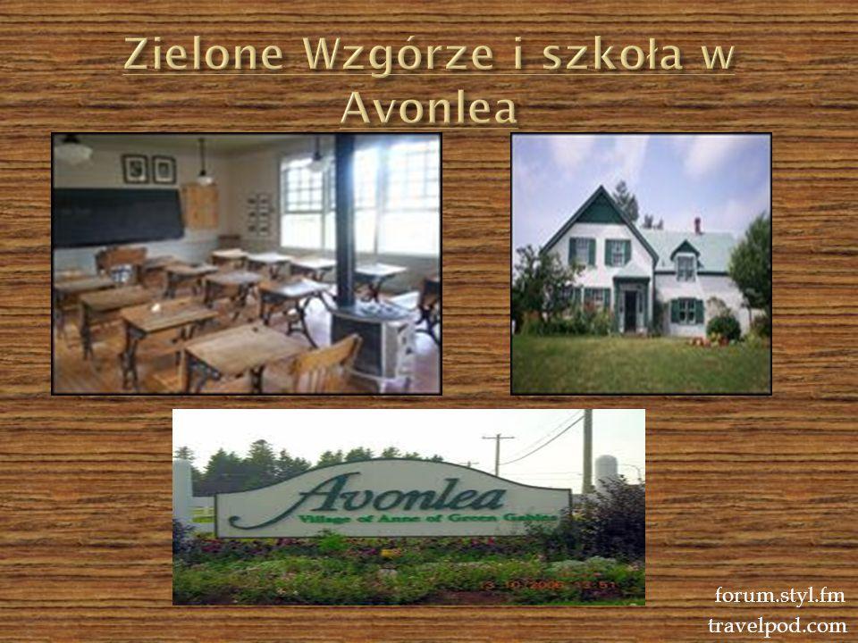Zielone Wzgórze i szkoła w Avonlea