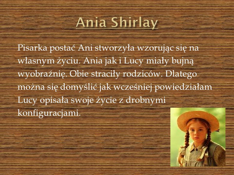 Ania Shirlay
