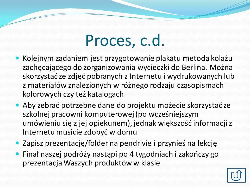Proces, c.d.