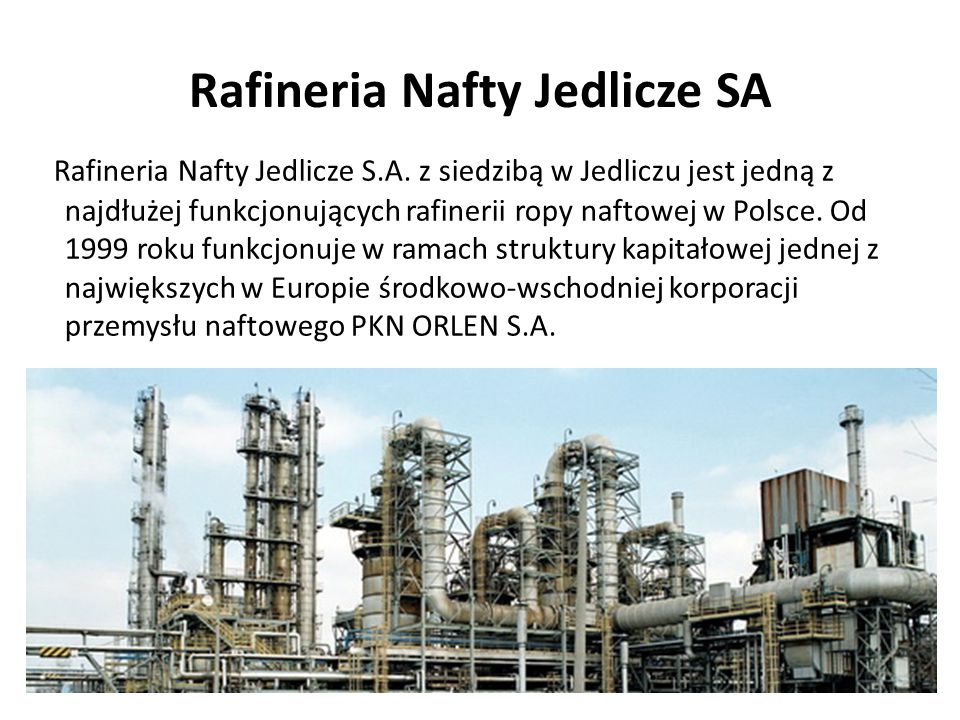 Rafineria Nafty Jedlicze SA