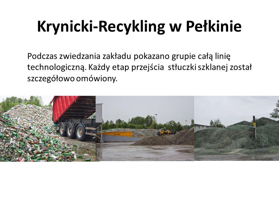 Krynicki-Recykling w Pełkinie