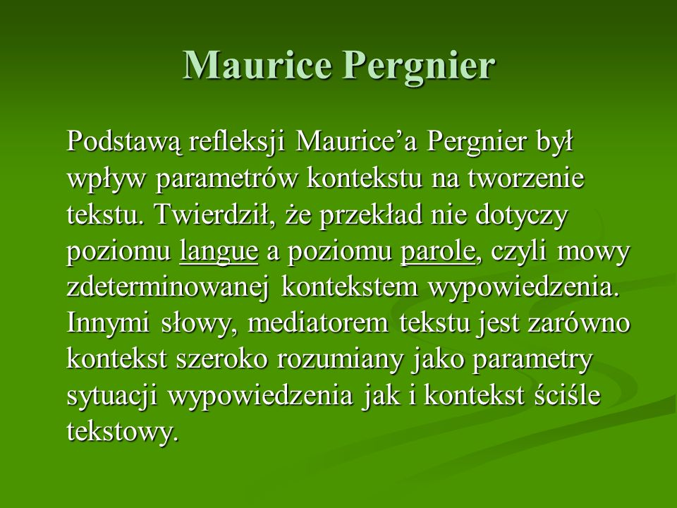 Maurice Pergnier