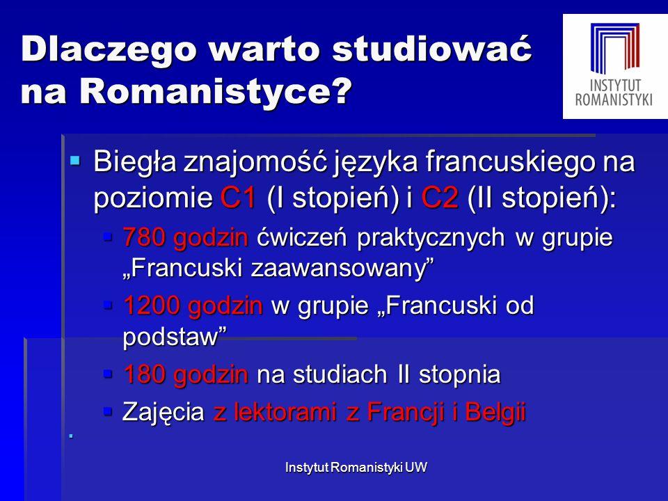 Dlaczego warto studiować na Romanistyce