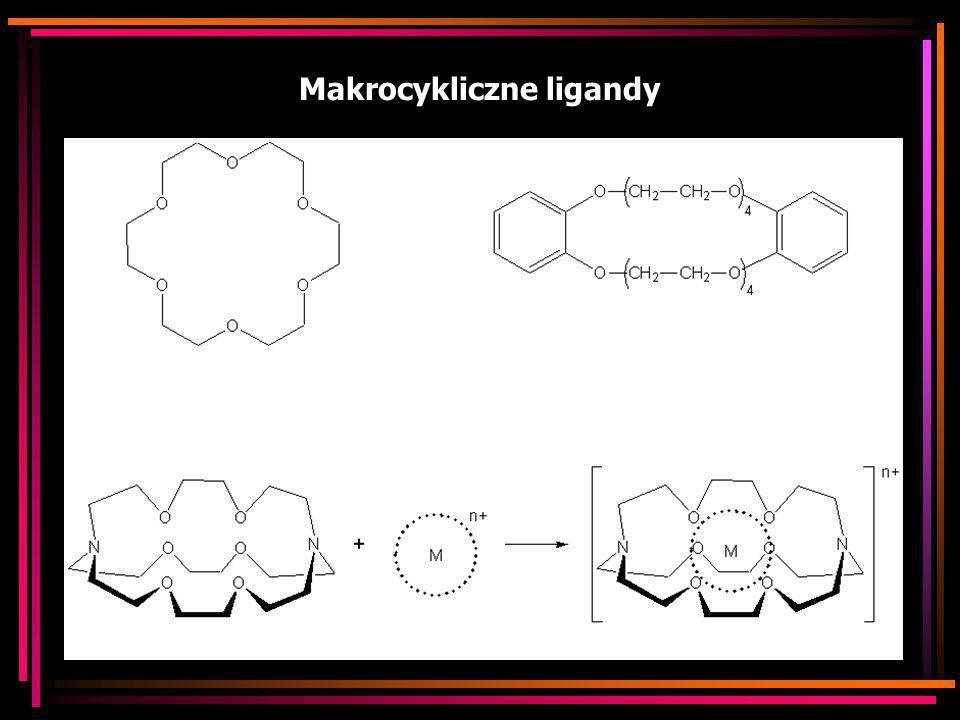 Makrocykliczne ligandy