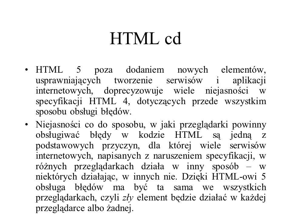 HTML cd