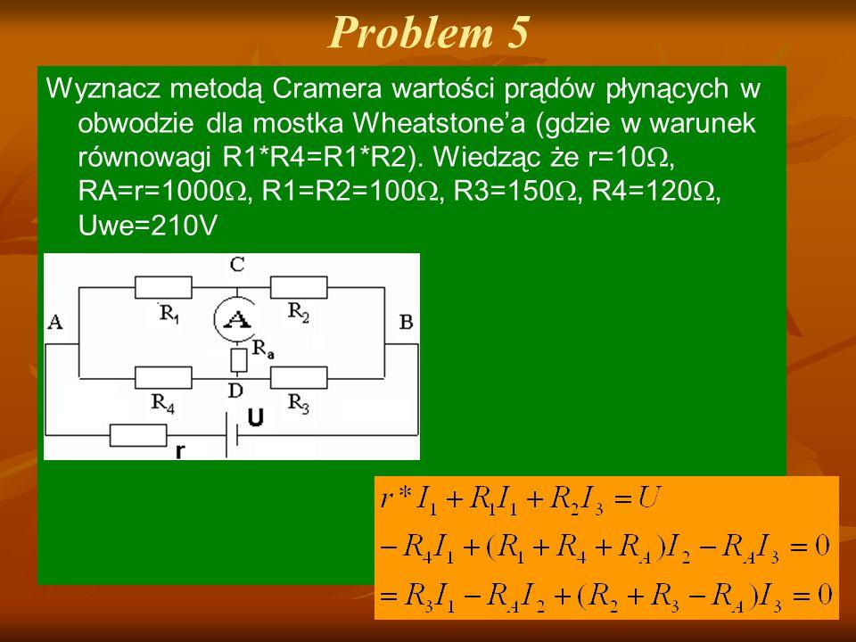 Problem 5