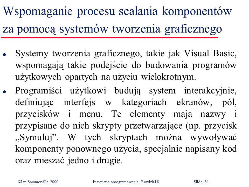 Wspomaganie procesu scalania komponentów za pomocą systemów tworzenia graficznego