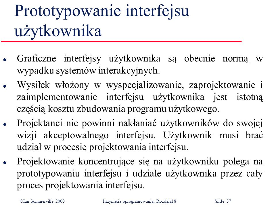 Prototypowanie interfejsu użytkownika