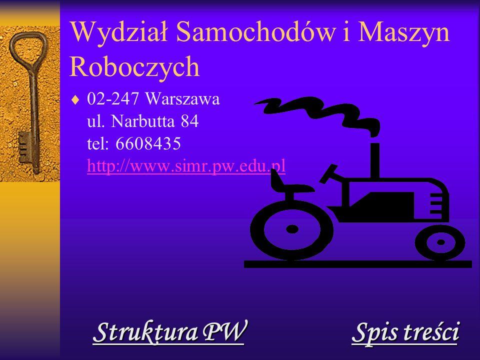 Wydział Samochodów i Maszyn Roboczych