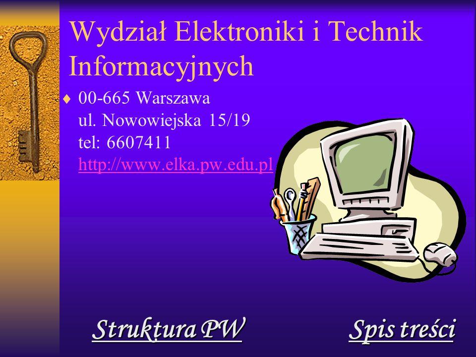 Wydział Elektroniki i Technik Informacyjnych