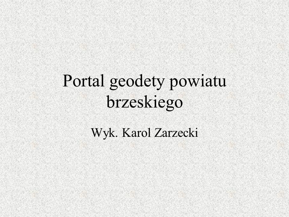 Portal geodety powiatu brzeskiego