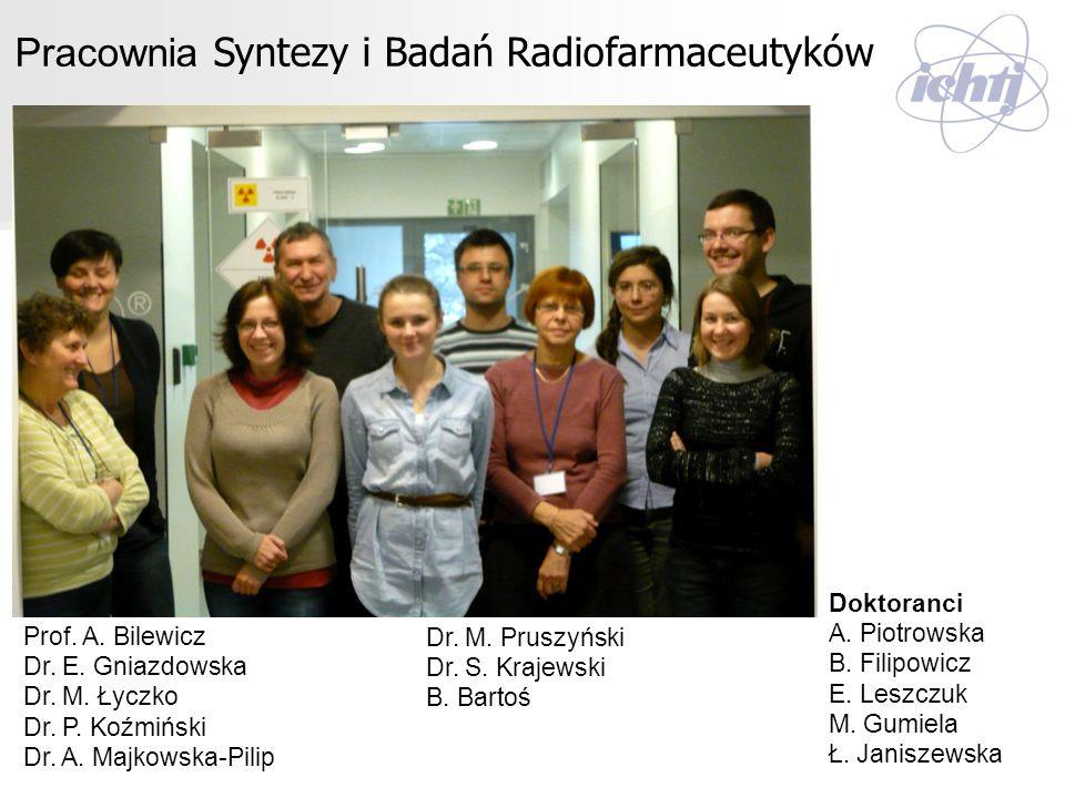 Pracownia Syntezy i Badań Radiofarmaceutyków