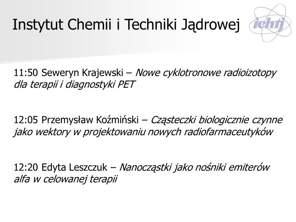 Instytut Chemii i Techniki Jądrowej