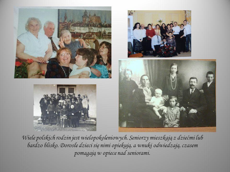Wiele polskich rodzin jest wielopokoleniowych