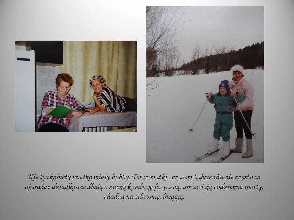 Kiedyś kobiety rzadko miały hobby