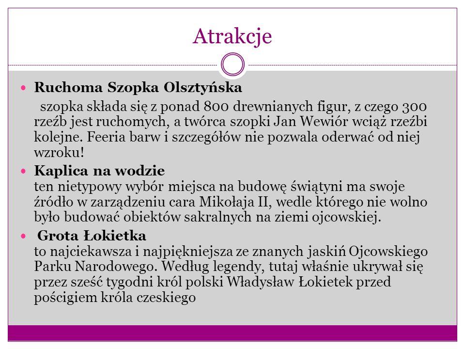 Atrakcje Ruchoma Szopka Olsztyńska