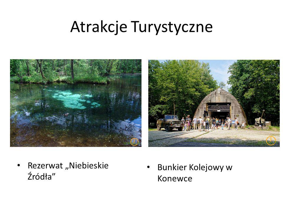"""Atrakcje Turystyczne Rezerwat """"Niebieskie Źródła"""