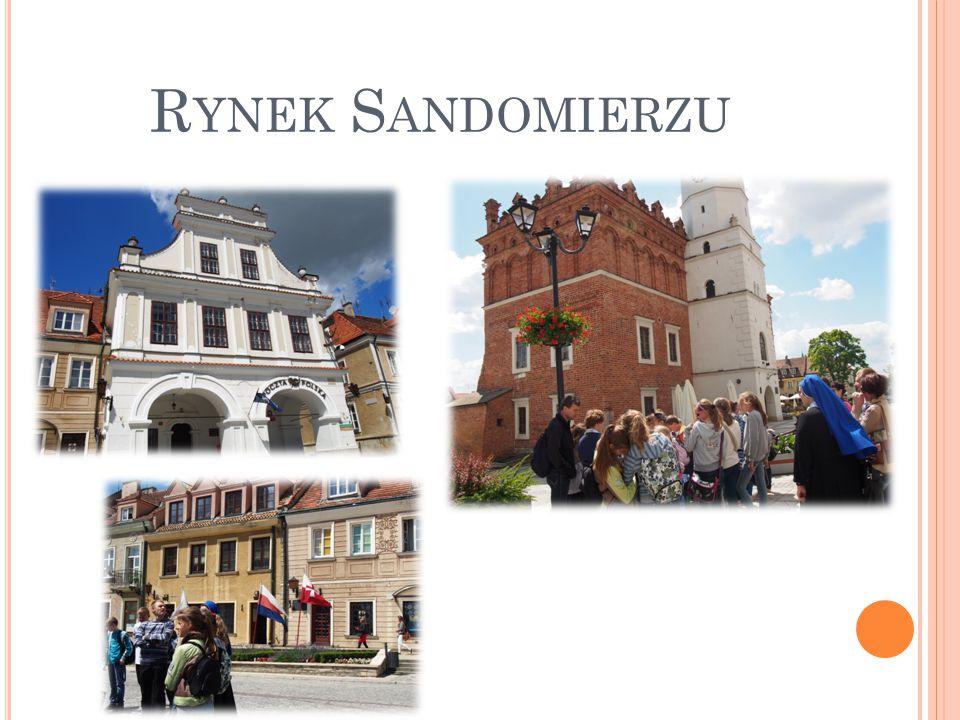 Rynek Sandomierzu