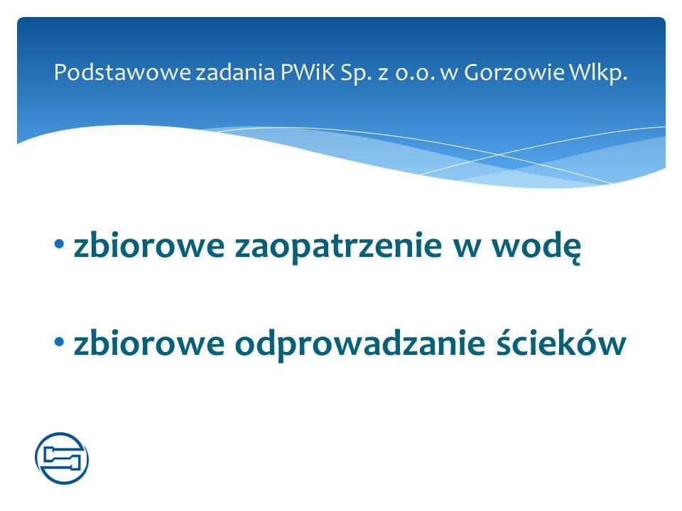 Podstawowe zadania PWiK Sp. z o.o. w Gorzowie Wlkp.