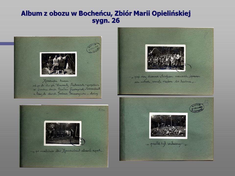 Album z obozu w Bocheńcu, Zbiór Marii Opielińskiej sygn. 26