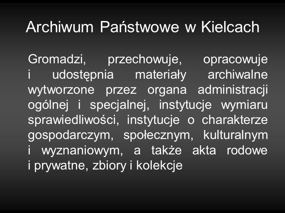 Archiwum Państwowe w Kielcach