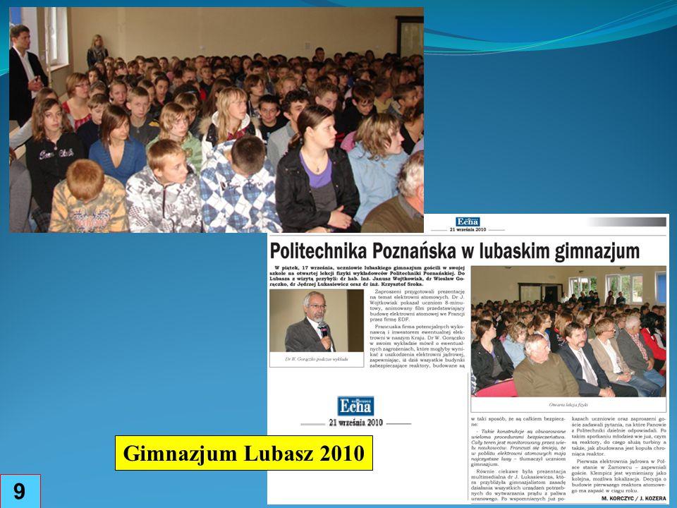 Gimnazjum Lubasz 2010 9