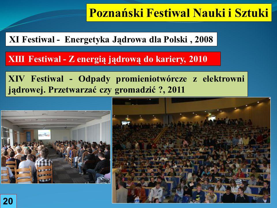 XI Festiwal - Energetyka Jądrowa dla Polski , 2008
