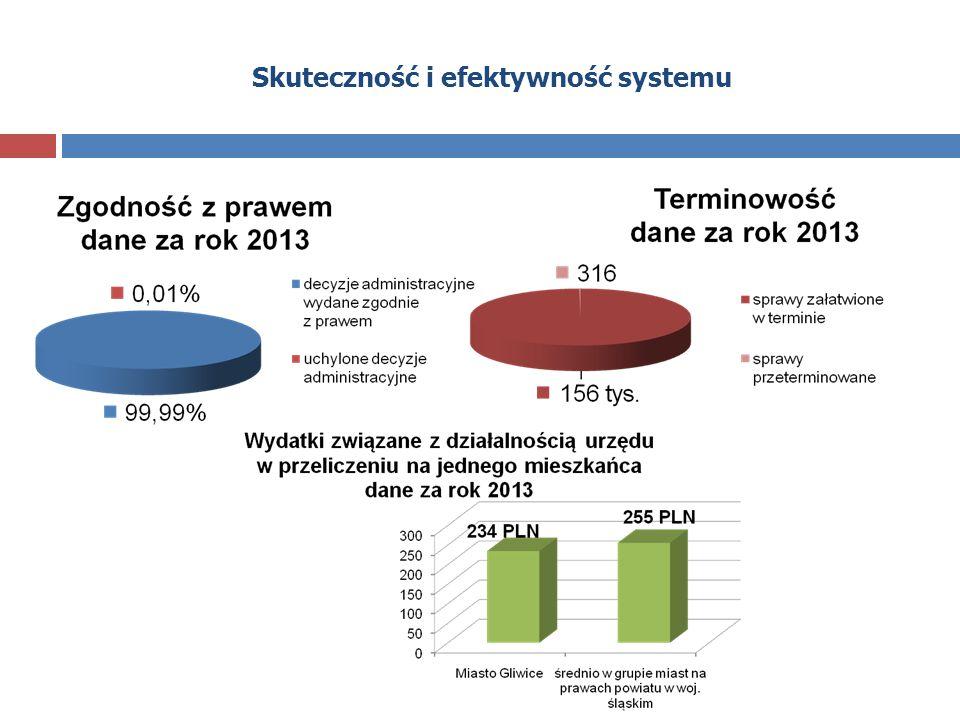 Skuteczność i efektywność systemu