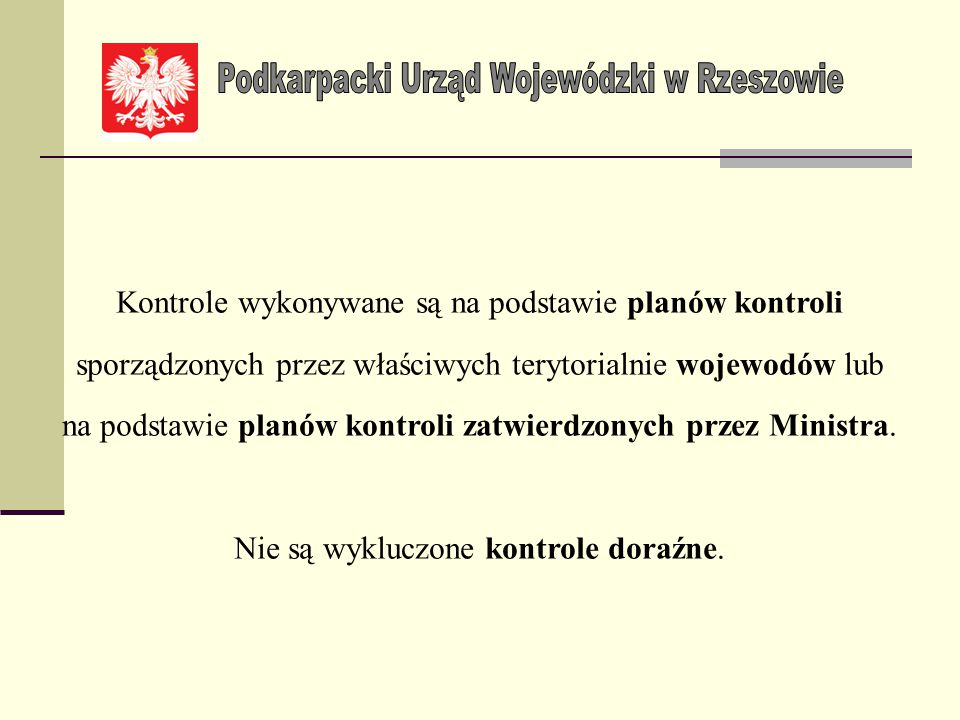 Podkarpacki Urząd Wojewódzki w Rzeszowie