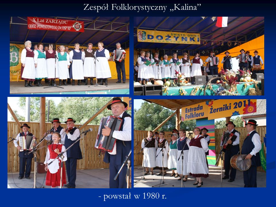 """Zespół Folklorystyczny """"Kalina"""