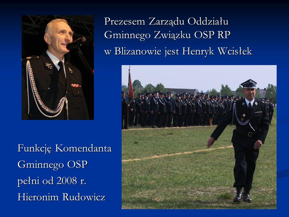 Prezesem Zarządu Oddziału Gminnego Związku OSP RP