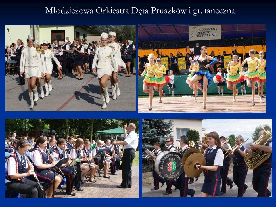 Młodzieżowa Orkiestra Dęta Pruszków i gr. taneczna