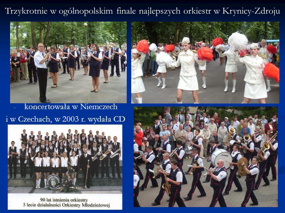 Trzykrotnie w ogólnopolskim finale najlepszych orkiestr w Krynicy-Zdroju