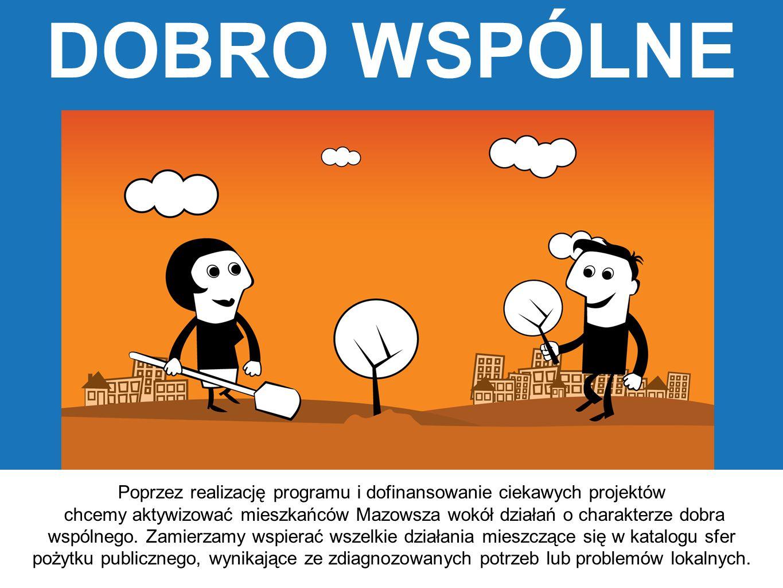 Poprzez realizację programu i dofinansowanie ciekawych projektów