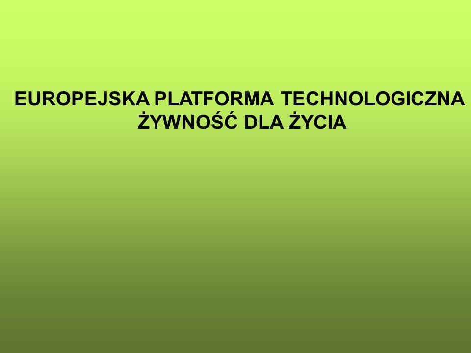EUROPEJSKA PLATFORMA TECHNOLOGICZNA