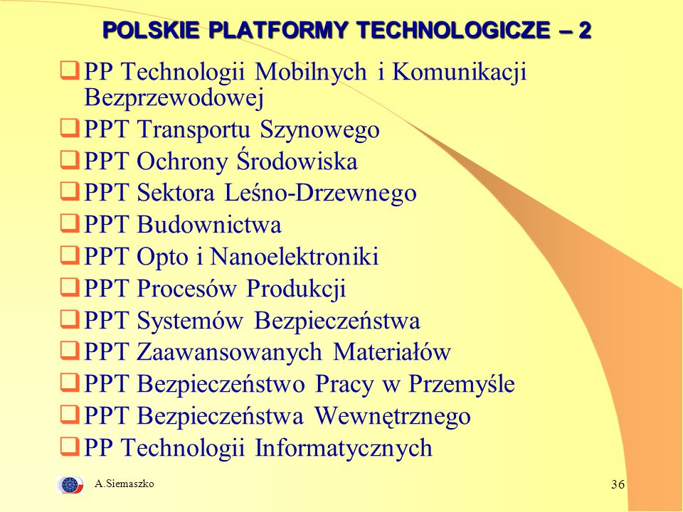 POLSKIE PLATFORMY TECHNOLOGICZE – 2