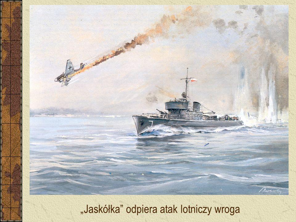 """""""Jaskółka odpiera atak lotniczy wroga"""
