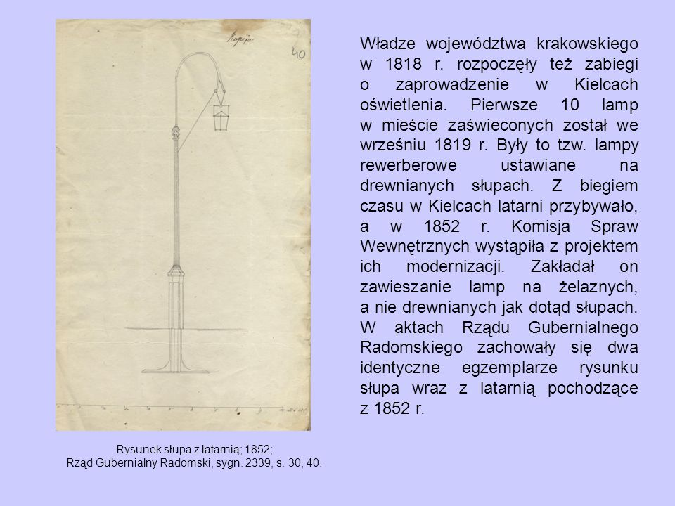 Władze województwa krakowskiego w 1818 r