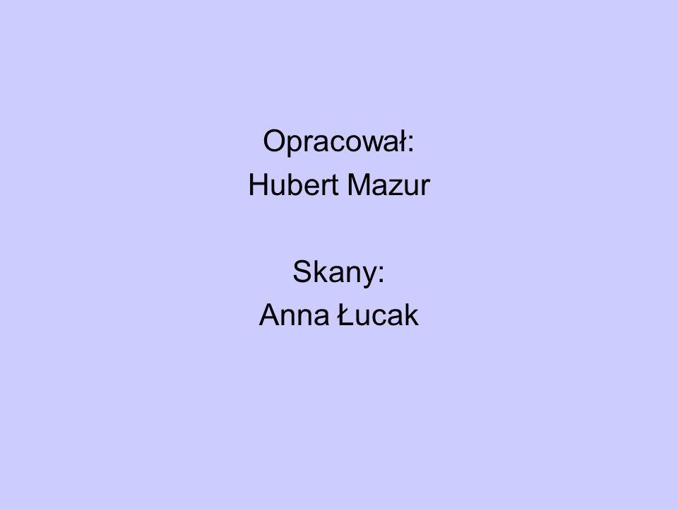 Opracował: Hubert Mazur Skany: Anna Łucak