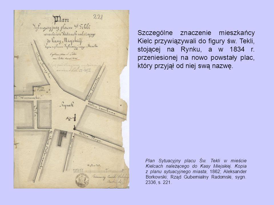 Szczególne znaczenie mieszkańcy Kielc przywiązywali do figury św