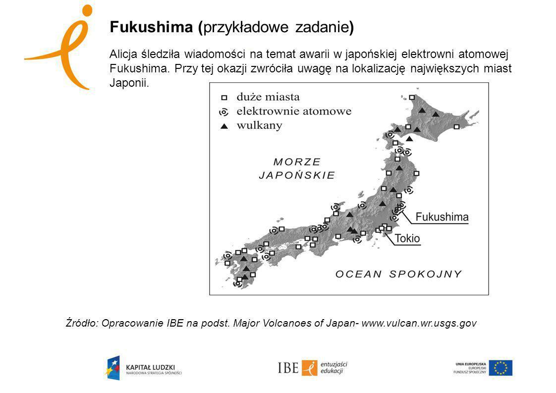 Fukushima (przykładowe zadanie)