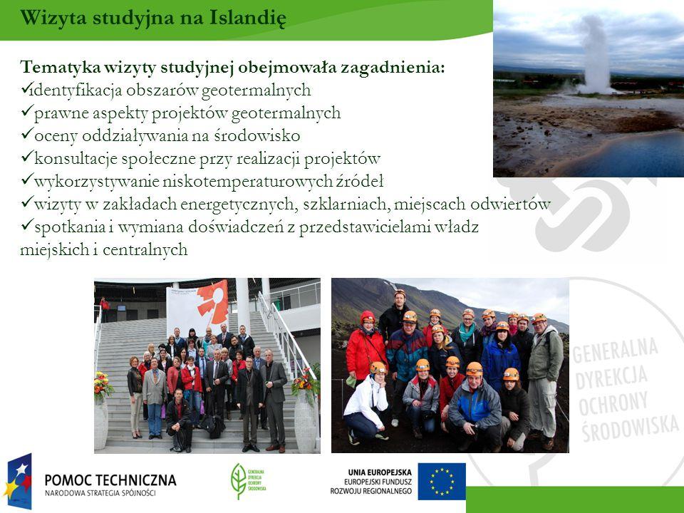 Wizyta studyjna na Islandię