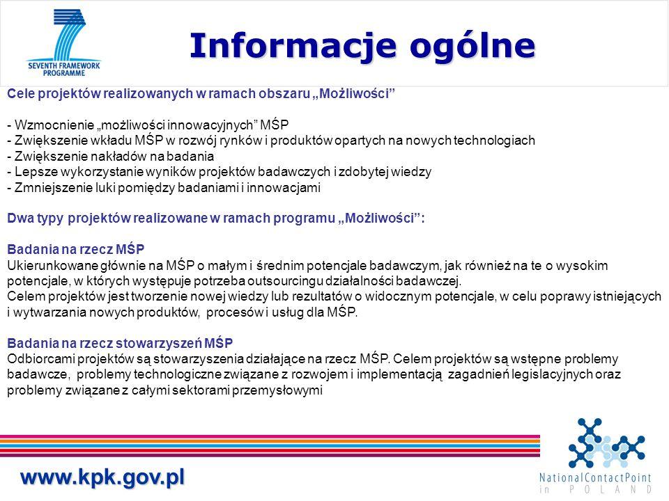 Informacje ogólne www.kpk.gov.pl