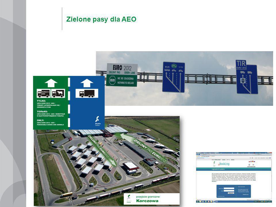Zielone pasy dla AEO