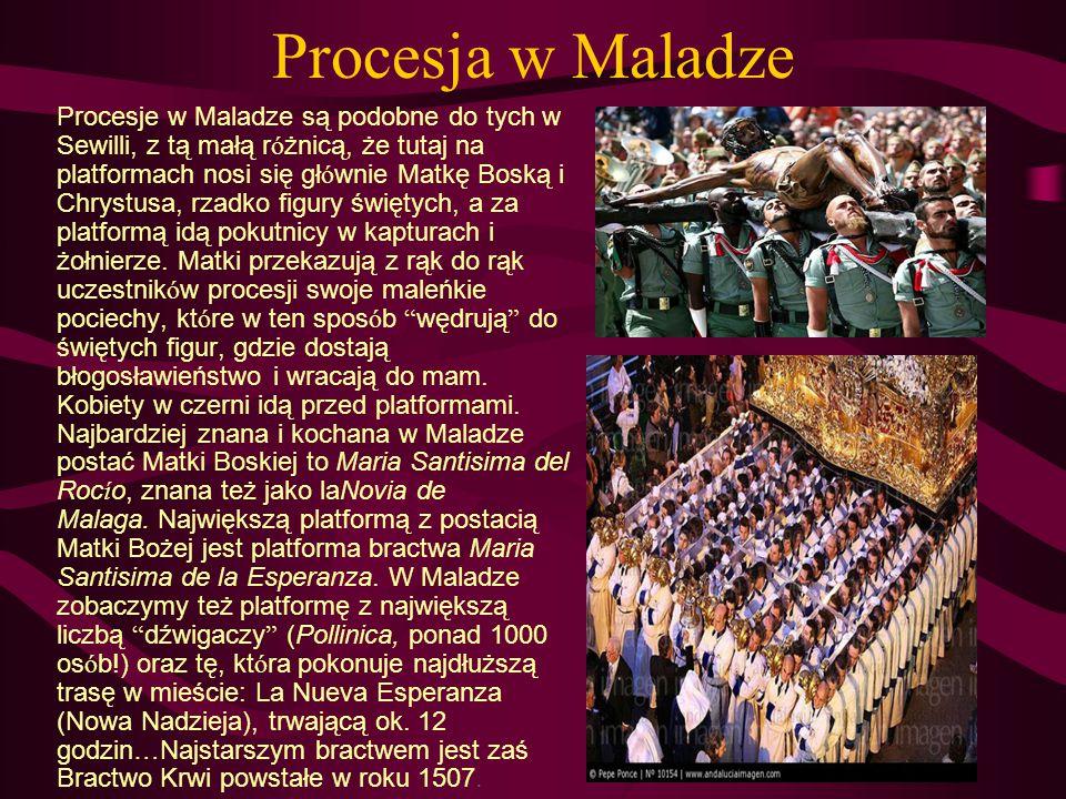 Procesja w Maladze