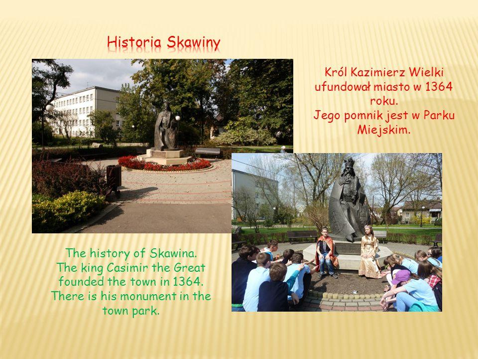 Król Kazimierz Wielki ufundował miasto w 1364 roku.