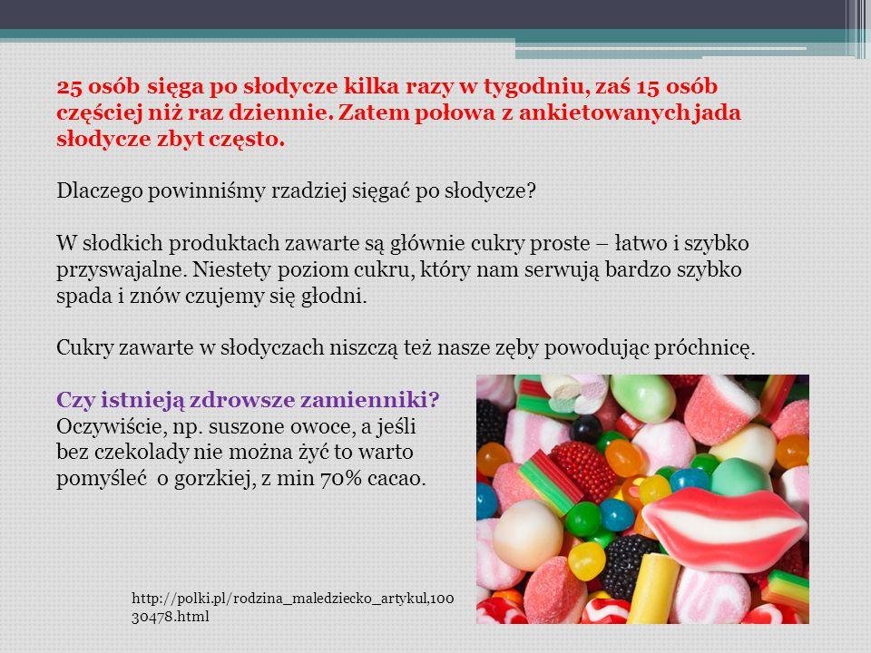 Dlaczego powinniśmy rzadziej sięgać po słodycze