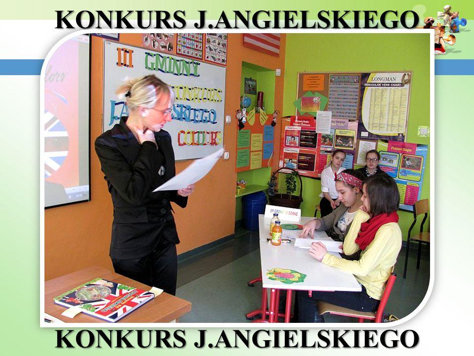 KONKURS J.ANGIELSKIEGO KONKURS J.ANGIELSKIEGO